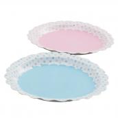 Assiettes pastel dots