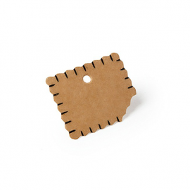 Etiquettes biscuit - Lot de 24