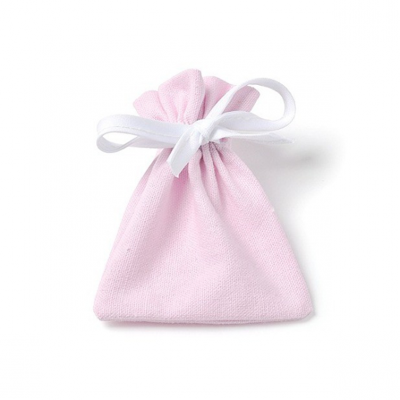 Sachets coton rose
