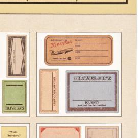 Stickers valises vintage