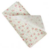 Papier de soie petites roses - Lot de 10 feuilles