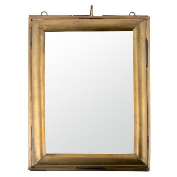Cadre rectangle laiton