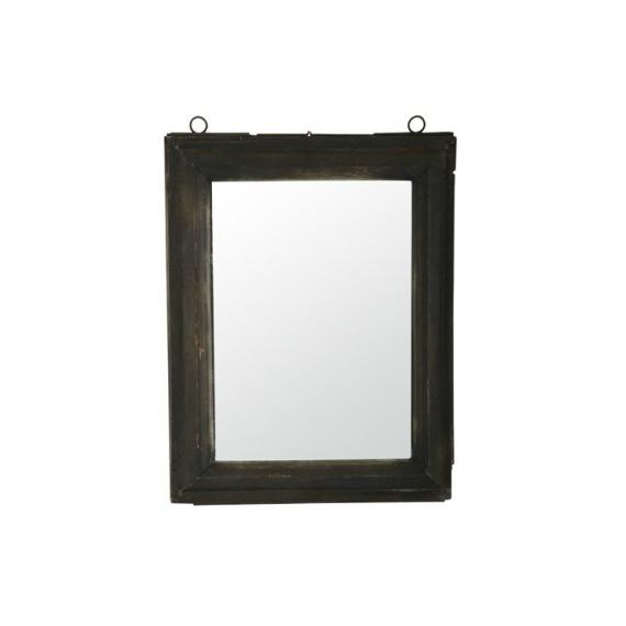 Cadre rectangle laiton noir
