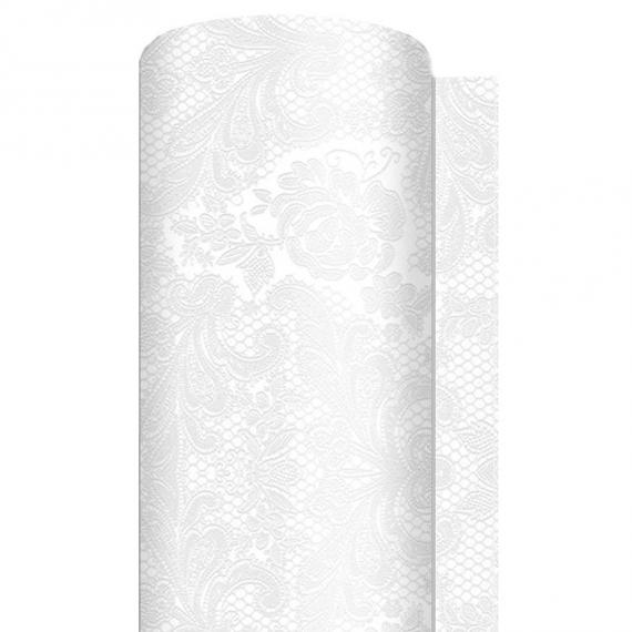 decoration de table chemin de table papier dentelle perle. Black Bedroom Furniture Sets. Home Design Ideas