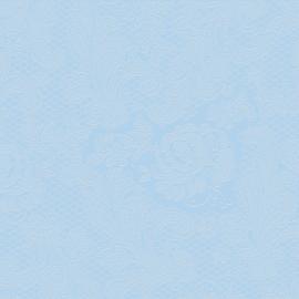 Serviettes papier dentelle bleu ciel - Lot de 15
