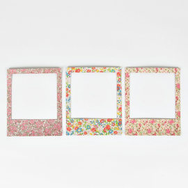 Magnets polaroïd liberty assortis - Lot de 3