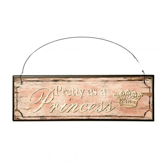 Pancarte rétro princess