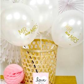 Ballons mariage Mr & Mrs