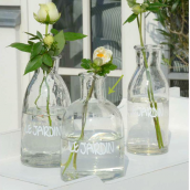 Vase bougeoir sérigraphié le jardin
