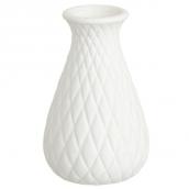 Vase céramique biscuit harlequin