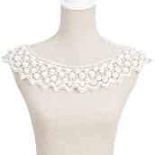 Collier scarlett crochet et perles