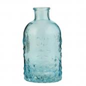 flacon vintage bleu