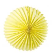 Lanterne unie jaune