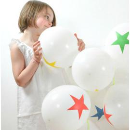 Ballons circus - Lot de 8