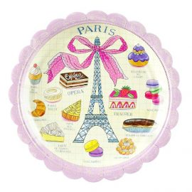 Assiettes paris folies
