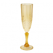Flute champagne golden night