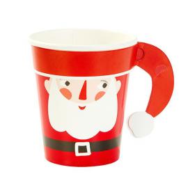 Gobelets happy Père Noël