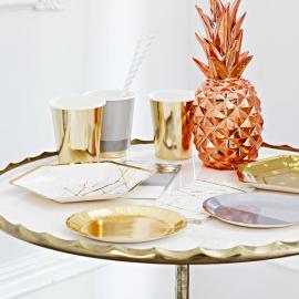 Assiettes cocktail trendy design