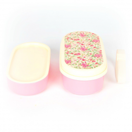 Lunch box bento rose liberty