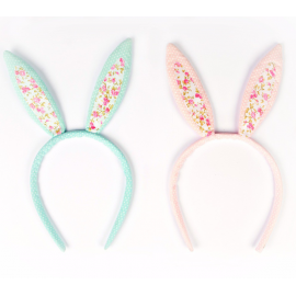 Serre tête lapin liberty - Lot de 2