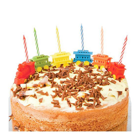 Bougies anniversaires petit train