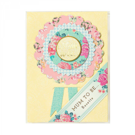 Rosette baby shower Mum to be
