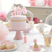 Cake topper pompoms et tutus danseuses