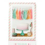 Guirlande tassel pompoms trendy pastel