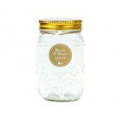 Pot bocal style Mason jar dentelle