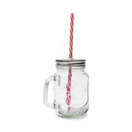 Pot verre mason jar