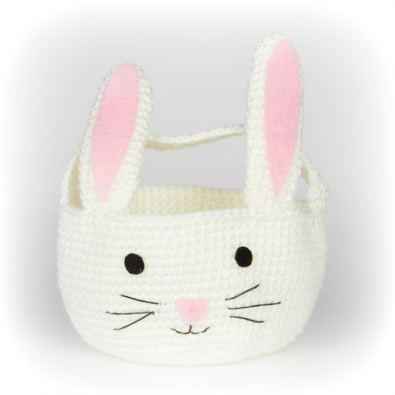 Panier crochet lapin