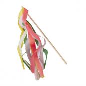 Baguettes à voeux rubans colors - Lot de 10