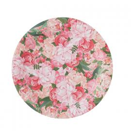 Assiettes floral bohème