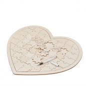 Puzzle livre d'or coeur