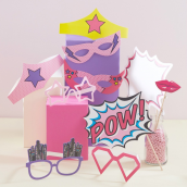 Photobooth girl power - Lot de 10