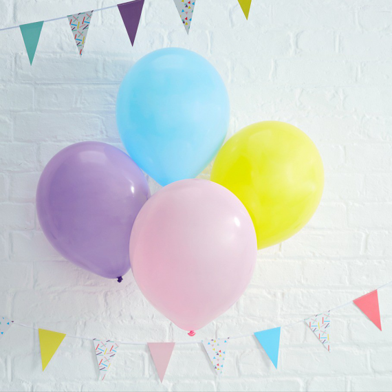 Ballons pastel mix & match