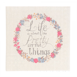 Serviettes papier pretty things - Lot de 20