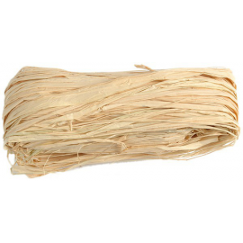 Raphia naturel - Pelote de 50 g