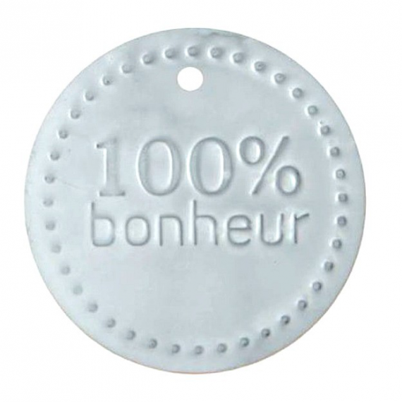 Decoration de table cadeau invit jetons m tal porte bonheur for Decoration porte bonheur