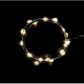 Guirlande de table led fleurettes