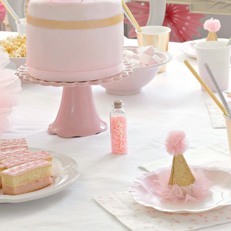 Decoration de table fiole paillettes magiques roses for Paillette decoration