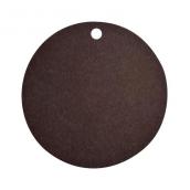 Etiquettes noires rondes - Sachet de 10