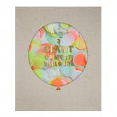 Ballons géants confettis acidulés - Lot de 3