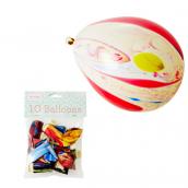 Ballons marbrés colors
