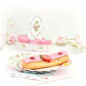 Assiettes pâtisserie jolie