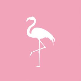 Serviettes papier flamant all pink