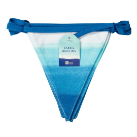 Guirlande fanions tissu summer blue