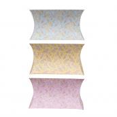 Boites cadeaux fleurettes pastel