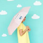 Parapluie pliant confettis