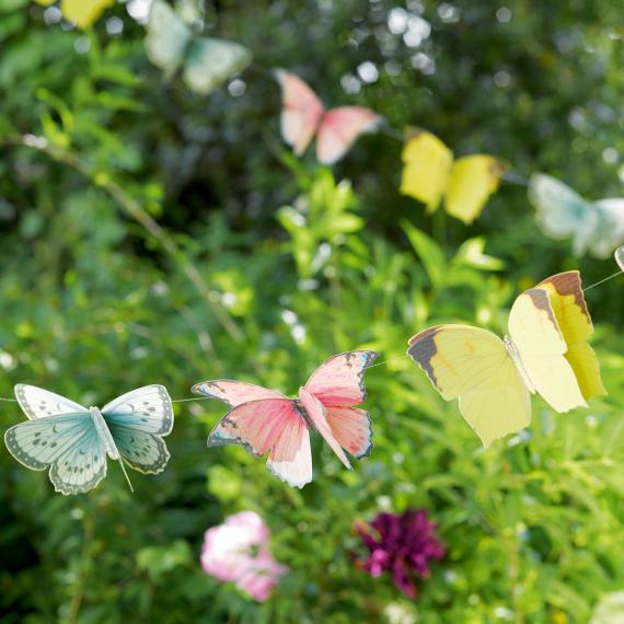 Guirlande de papillons fairy story